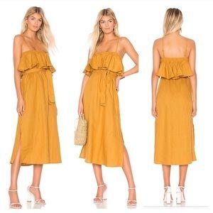 Faithfull the Brand Santo midi dress